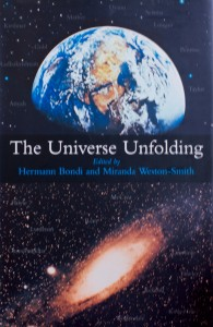 The Universe Unfolding - Cover